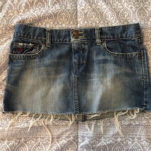 Abercrombie & Fitch mini denim skirt, size 4